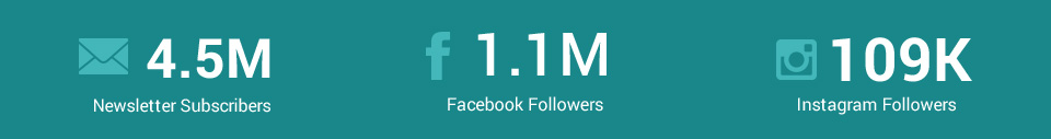 Newsletter Subscribers, Facebook Followers, Instagram Followers